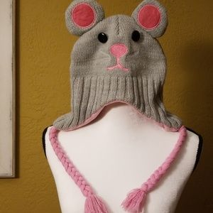 Hat mouse face